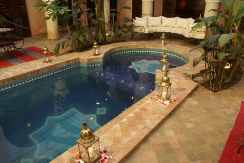 Riad-Nabila  Patio-Coursive 7